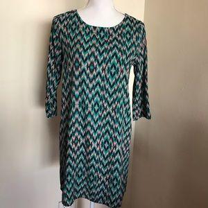 🆕📁Everly Vintage Batik Print Sheath Dress Sz M